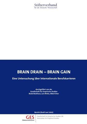 BRAIN DRAIN _ BRAIN GAIN