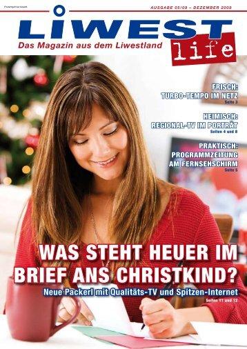 WAS STEHT HEUER IM BRIEF ANS CHRISTKIND?