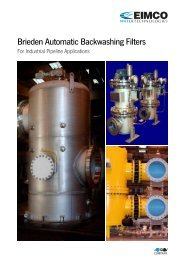 Brieden automatic backwashing filters - CMS
