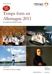 Temps forts en Allemagne 2011 - Germany Travel