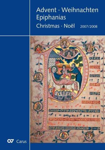 Advent · Weihnachten Epiphanias