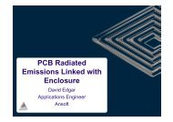 PCB Radiated Emissions Linked With Enclosure