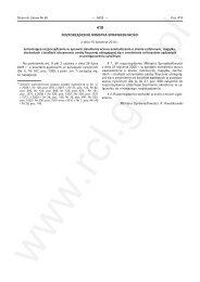 Rozporządzenie Ministra Sprawiedliwości z dnia 15 kwietnia 2010 r ...