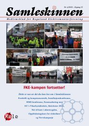 Samleskinnen - Rogaland Elektromontørforening