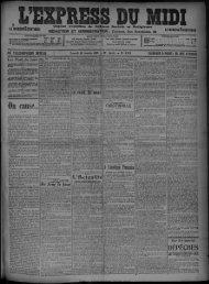 30 Janvier 1909 - Bibliothèque de Toulouse
