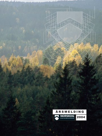Årsmelding 2004 - Skoginfo