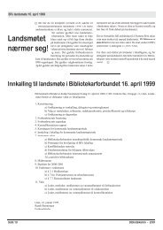 sakspapirer - Bibliotekarforbundet