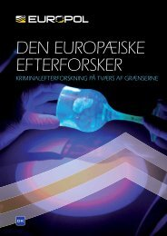 DEN EUROPÆISKE EFTERFORSKER - Europol - Europa