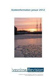 Skatteinformation januar 2012 - Vestjysk Revision