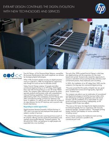 HP Indigo 7000 Digital Press | IT Case study | Ever-Art'-Design | HP