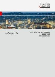 Büromarkt Stuttgart 2008/2009 Ellwanger&Geiger