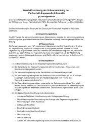 Geschäftsordnung der Vollversammlung der Fachschaft ...