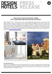 Download now - press - Design Hotels
