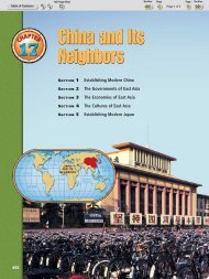 Chapter 17 Section 1: Establishing Modern China - Nexuslearning.net