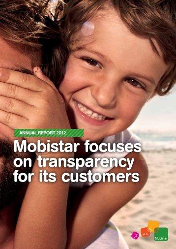 Annual report - Mobistar