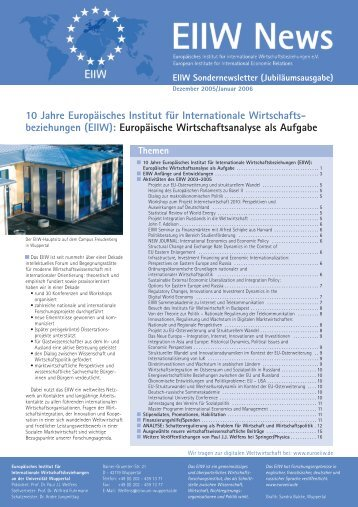 Issue 2005-II - EIIW