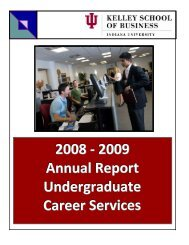 2005-06 Undergraduate Career Services Office Annual Report