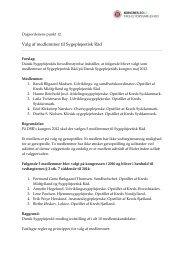 Valg af medlemmer til Sygeplejeetisk Råd - Dansk Sygeplejeråd