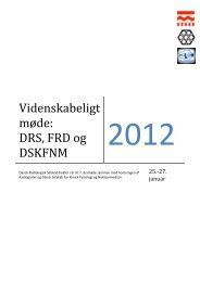 Program - DSKFNM Dansk Selskab for Klinisk Fysiologi og ...