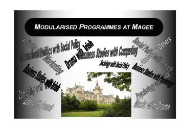 Magee - University of Ulster