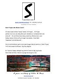 Saint Tropez eller Monte Carlo? - Saintrop.com