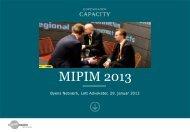MIPIM 2013 - Byens Netværk
