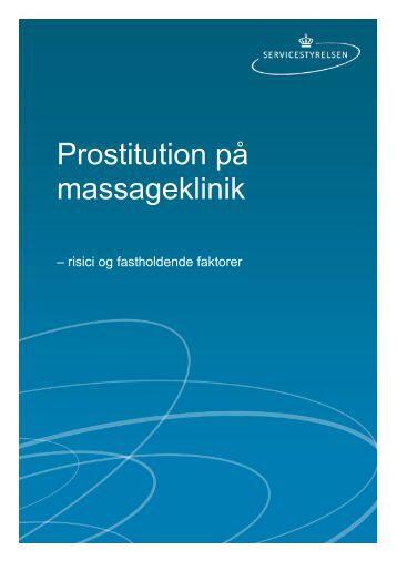 Prostitution på massageklinik - Servicestyrelsen