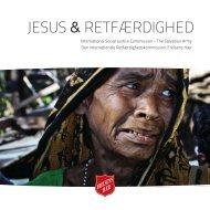 JESUS & RETFÆRDIGHED - Salvation Army