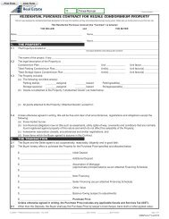 residential purchase contract for resale ... - Maxwell Realty