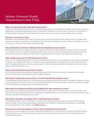 CLARIAN HEALTH - METHODIST HOSPITAL - IU Health