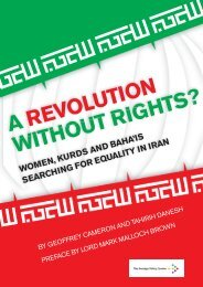A revolution without rights? - Foreign Policy Centre