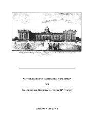 JAHRGANG 4 (1994) NR. 1 - Residenzen-Kommission