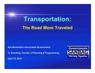 Transportation: The Road More Traveled - Center for Sustainable ...