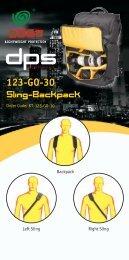 Sling-Backpack 123-GO-30 - Shopatron
