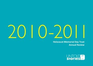 Annual Review Holocaust Memorial Day Trust