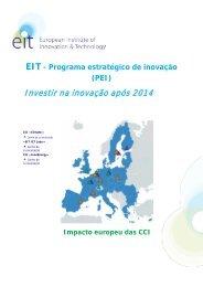 EIT Strategic Innovation Agenda 2011 - Europa