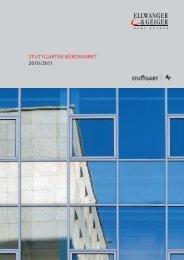 Büromarkt Stuttgart 2010/2011 Ellwanger&Geiger