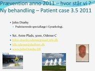 Prævention Anno 2011 Hvor Står Vi - Cure4you