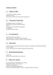 a) Nächstes Treffen b) Erstsemesterorientierung c) Geo-Stammtisch ...