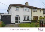 23 Highfield Park, Dundrum, Dublin 14 - MyHome.ie