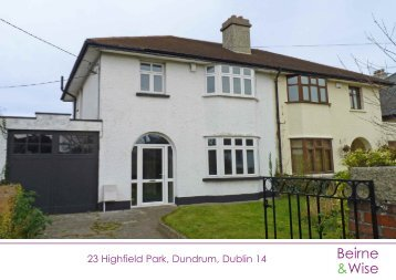 23 Highfield Park, Dundrum, Dublin 14 - MyHome.ie