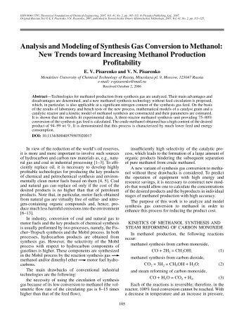 Global Methanol