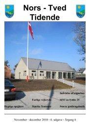 Nors-Tved Tidende - nov-dec 2010 - Norsby.dk