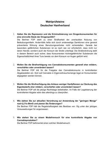 FDP - des Deutschen Hanf Verband