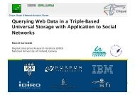 Querying Web Data in a Triple-Based Universal Storage with ...