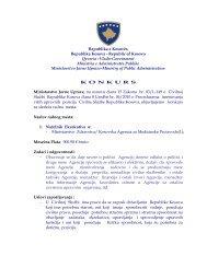Republika e Kosovës Republika Kosova - Republic of Kosovo ...
