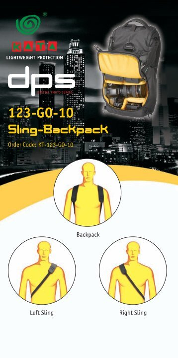 Sling-Backpack 123-GO-10 - OpticsPlanet.com