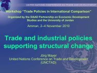 Trade and industrial policies supporting structural change - DAAD ...