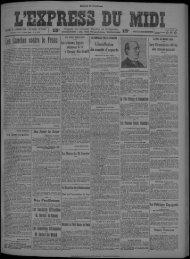 22 janvier 1924 - Bibliothèque de Toulouse