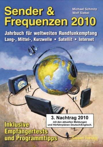 Sender & Frequenzen 2010